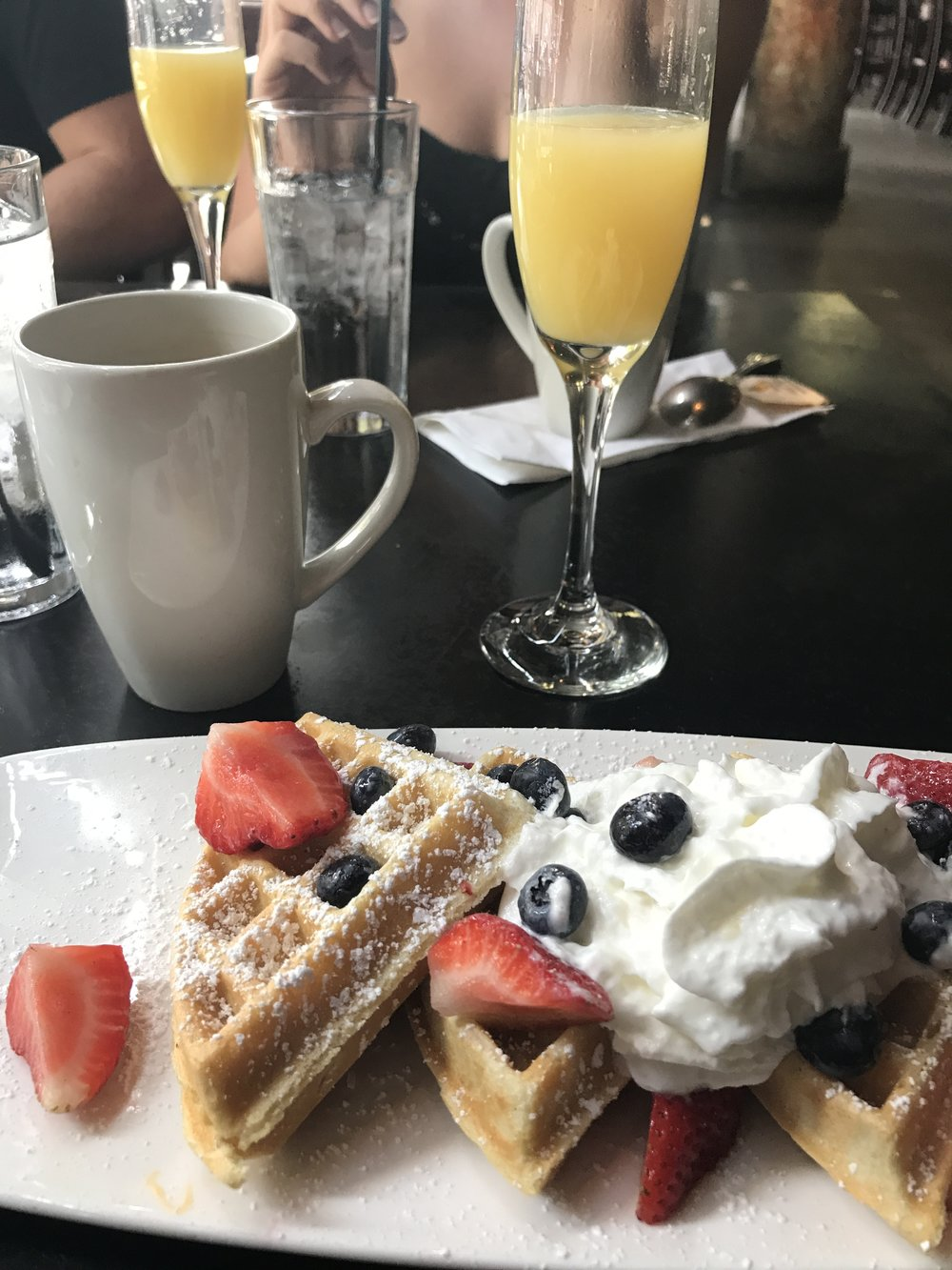 Labor Day Brunch - Bottomless mimosas are life.