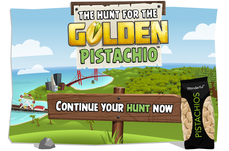 The Hunt for the Golden Pistachio