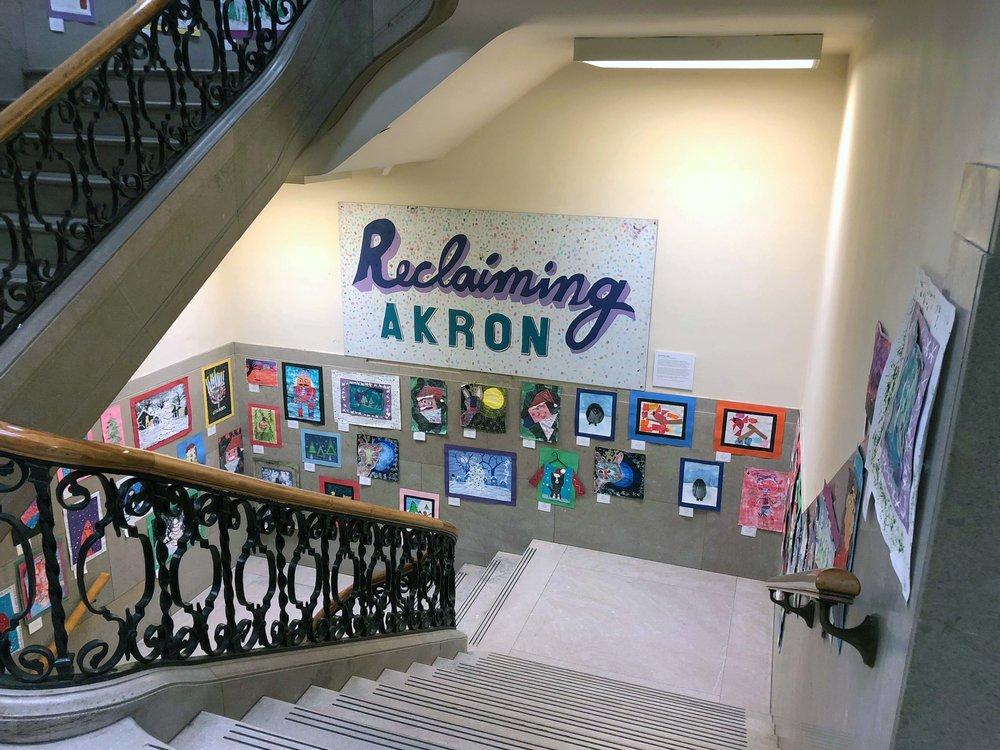 Reclaiming Akron is a welcoming sight, and collaborative community achievement.