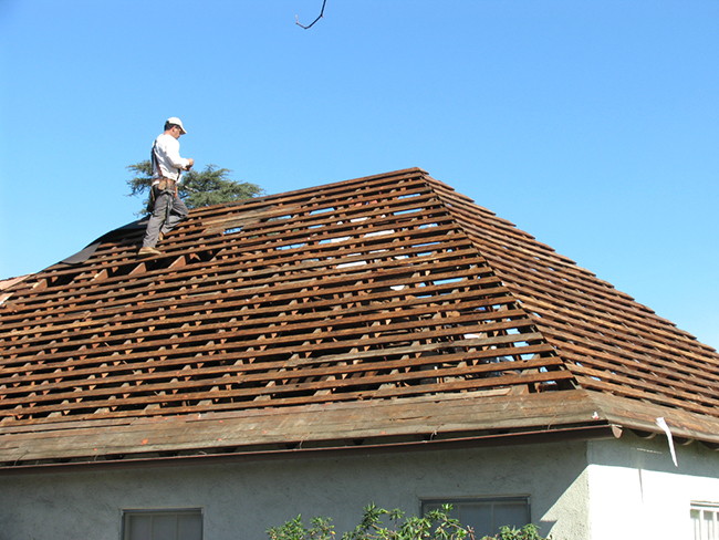 Re-roofing - From roof removal to a new roof installation, we help you select and install the right roof for your needs. 100% Guaranteed!