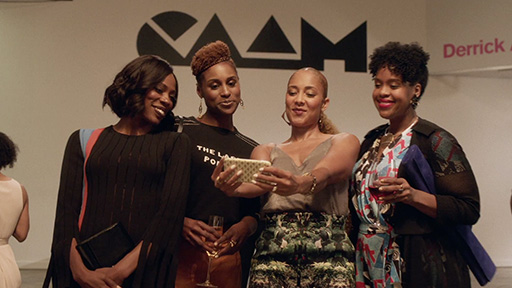Insecure  is created by Issa Rae who is also starring in the show and is one of the executive producers. The show first aired on HBO network on October 9, 2016. Photo still by HBO.