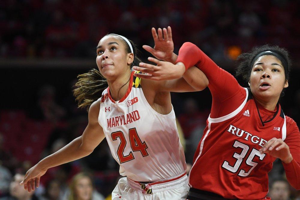 (Photo courtesy of Maryland Women's Basketball/Twitter)