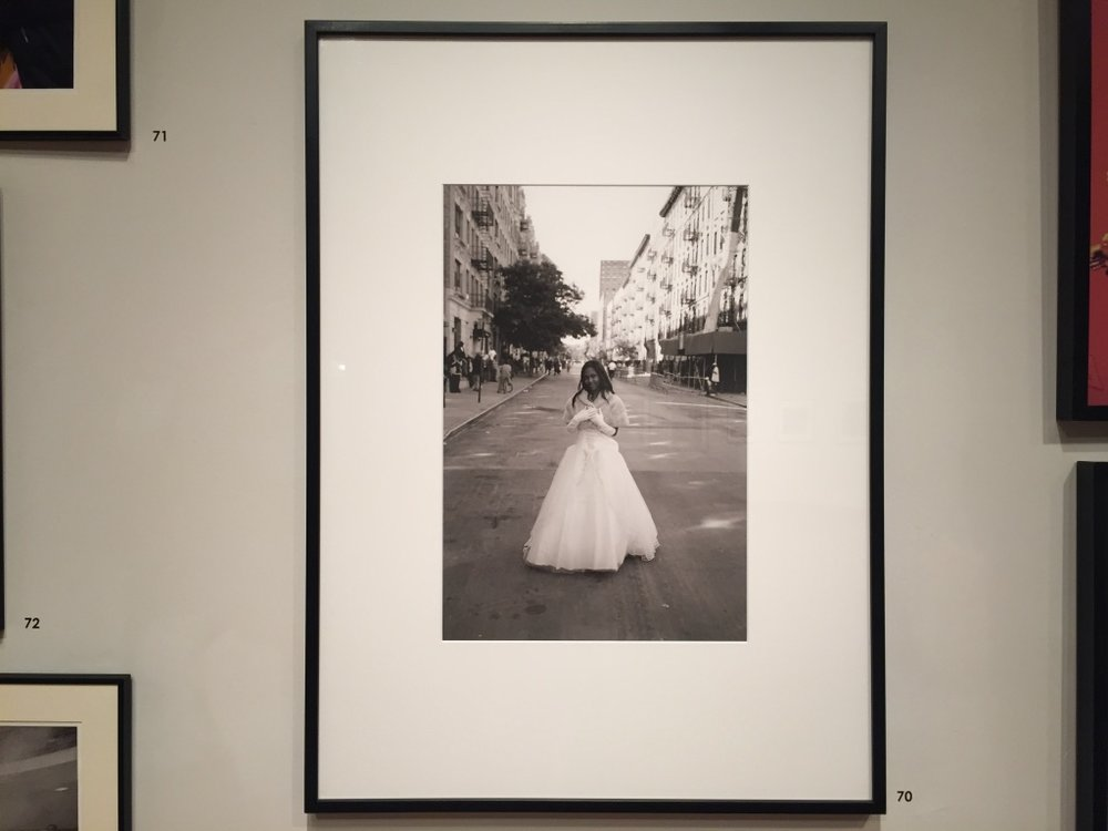 Watts' photography  Beauty on West 142nd Street, Harlem . (Iman Hassen/The Black Explosion)