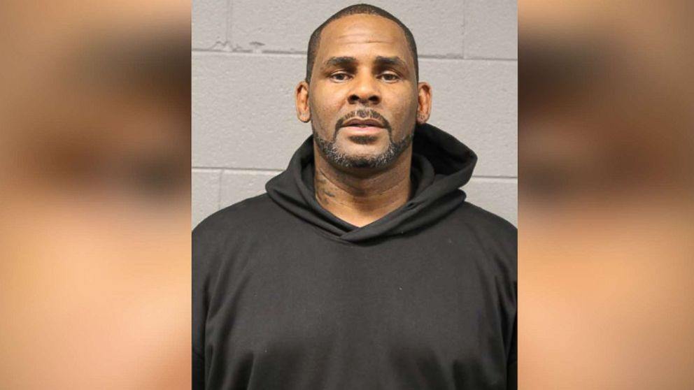 R. Kelly's mugshot from Friday February 23, 2019, in Cook County Jail, Chicago, Illinois. photo obtained from ABC News