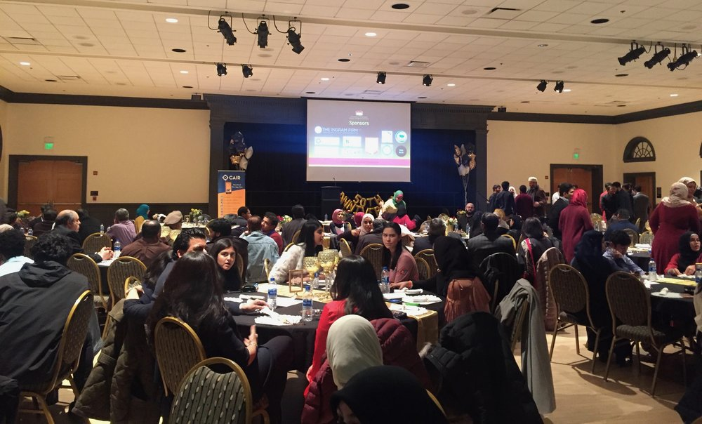 The UMD Muslim Student Association celebrates 50 years with its annual fundraising gala in the Adele H. Stamp Student Union on Mar. 3, 2019.