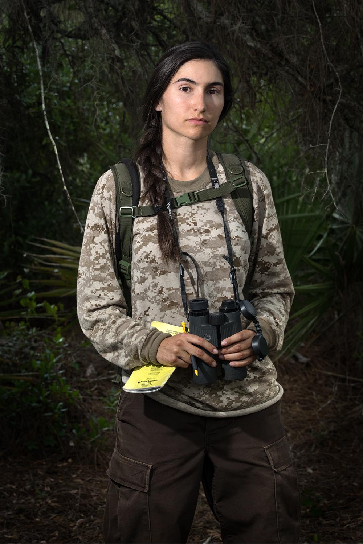 Gisselle Mondu    Florida Scrub-Jay Research Intern   Archbold Biological Station  2015/4/10