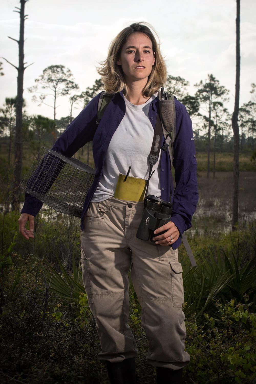 Dr. Angela Tringali    Florida Scrub-Jay Researcher   Archbold Biological Station  2016/4/7