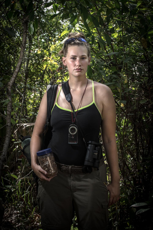 Samantha Apgar    Florida Scrub-Jay Research Intern   Archbold Biological Station  2015/4/11