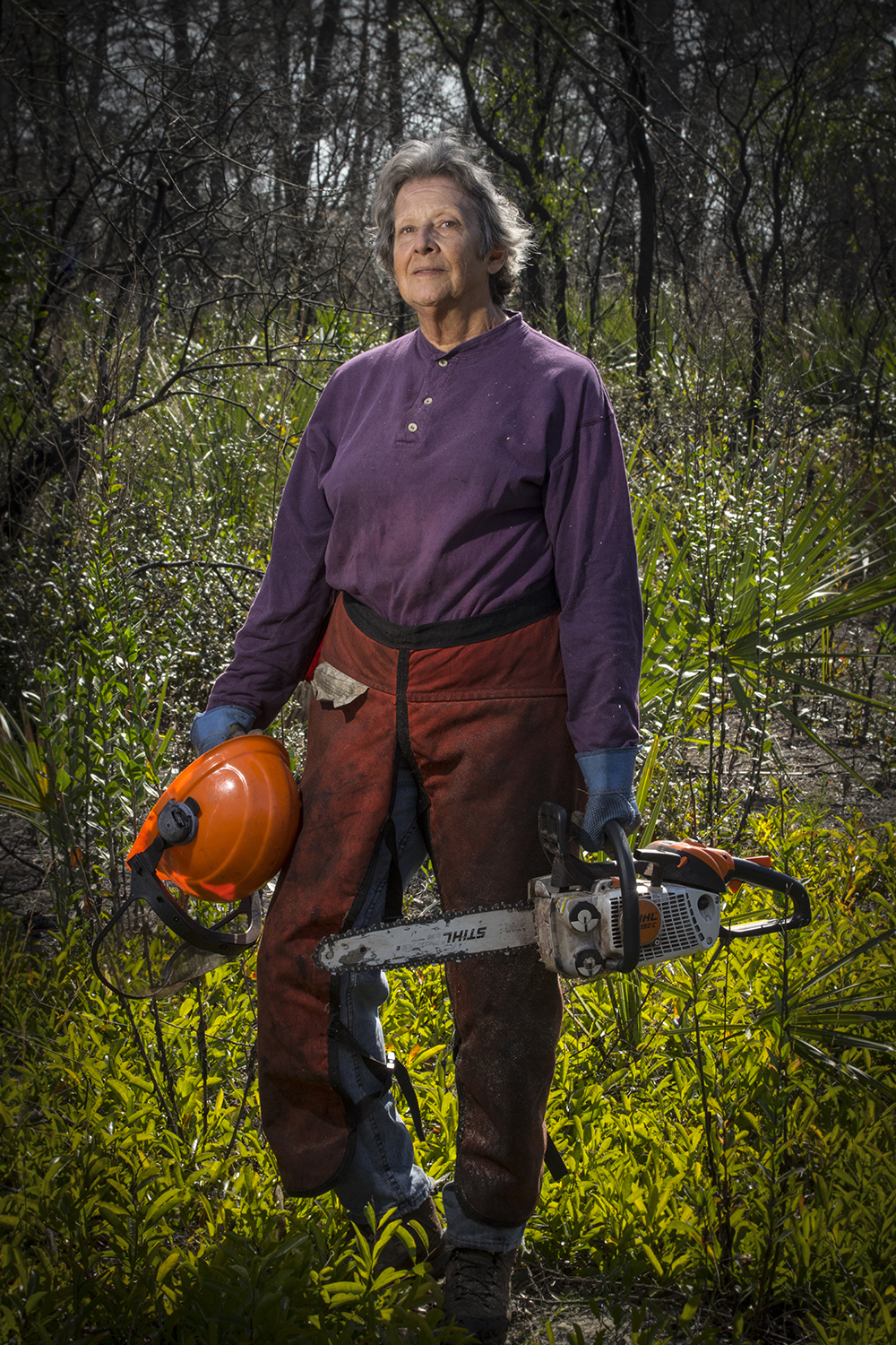Marilyn Blair    Retired Educator, Habitat Restoration Volunteer   Carter Creek State Preserve  2017/1/28