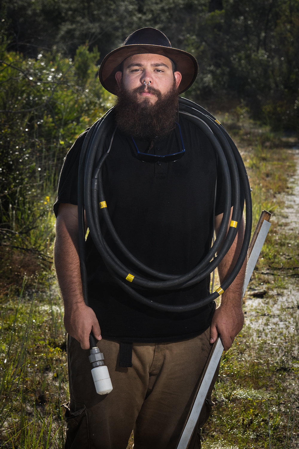 Alan Rivero    Gopher Tortoise Seasonal Technician   Avon Park Air Force Range  2016/8/28