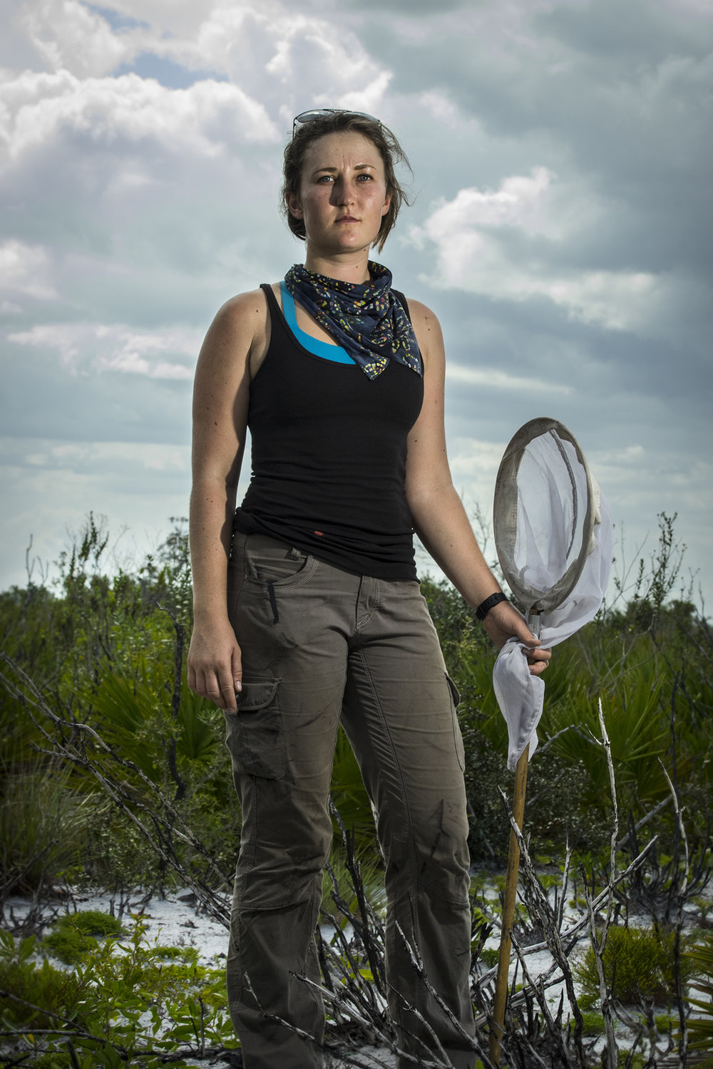 Annika Person Plant Ecology Intern (Fay's Palafoxia) Archbold Biological Station 2017/6/24