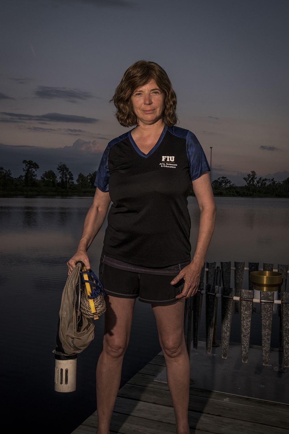 Evelyn Gaiser    Limnology Researcher from Florida International University   Archbold Biological Station  2018/11/10