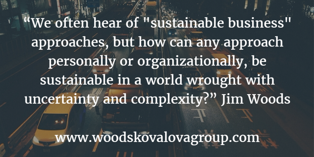 Customer service cannot be benchmarked in a world of relentless change. Jim Woods