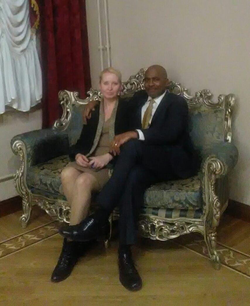 Lucy Kovalova-Woods vice-president and Jim Woods president, Woods Kovalova Group