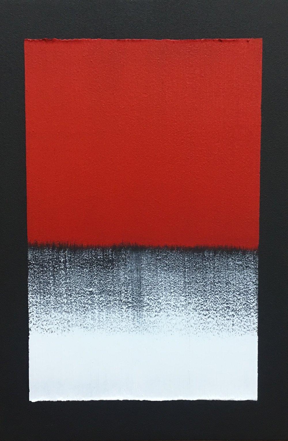 김수수_불(火) 2018 oil on canvas 41x27cm
