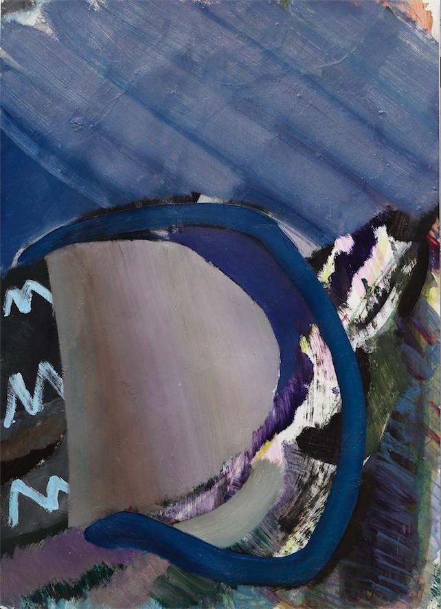 안상훈_아스팔트위에는 빵이 자라지않는다, 2015, mixed media on paper,44x31.5cm