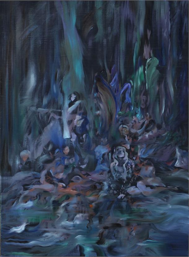 김동현_Tree_of_Life 72x60cm oil_on_canvas_2018