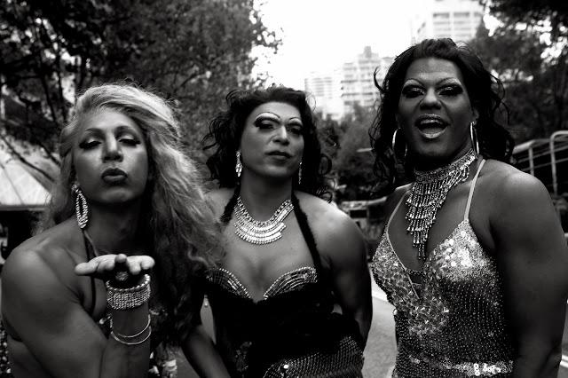Barbara McGrady  Sista Girls stylin up, Mardi Gras 2013