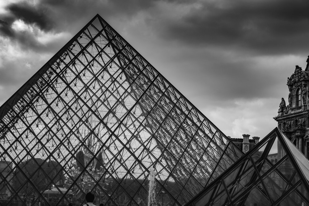 Le Louvre By Frantz-Eric Celestin.