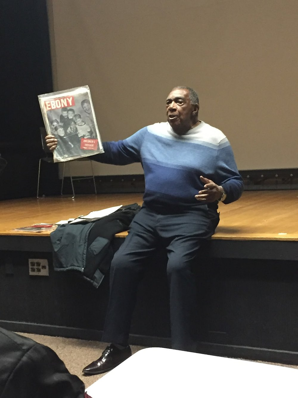 A. Peter Bailey Visits Howard University to Speak to Young Media Students