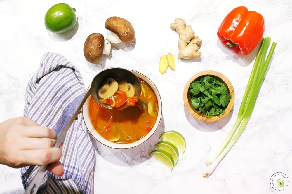 Thai Coconut Curry Soup Recipe