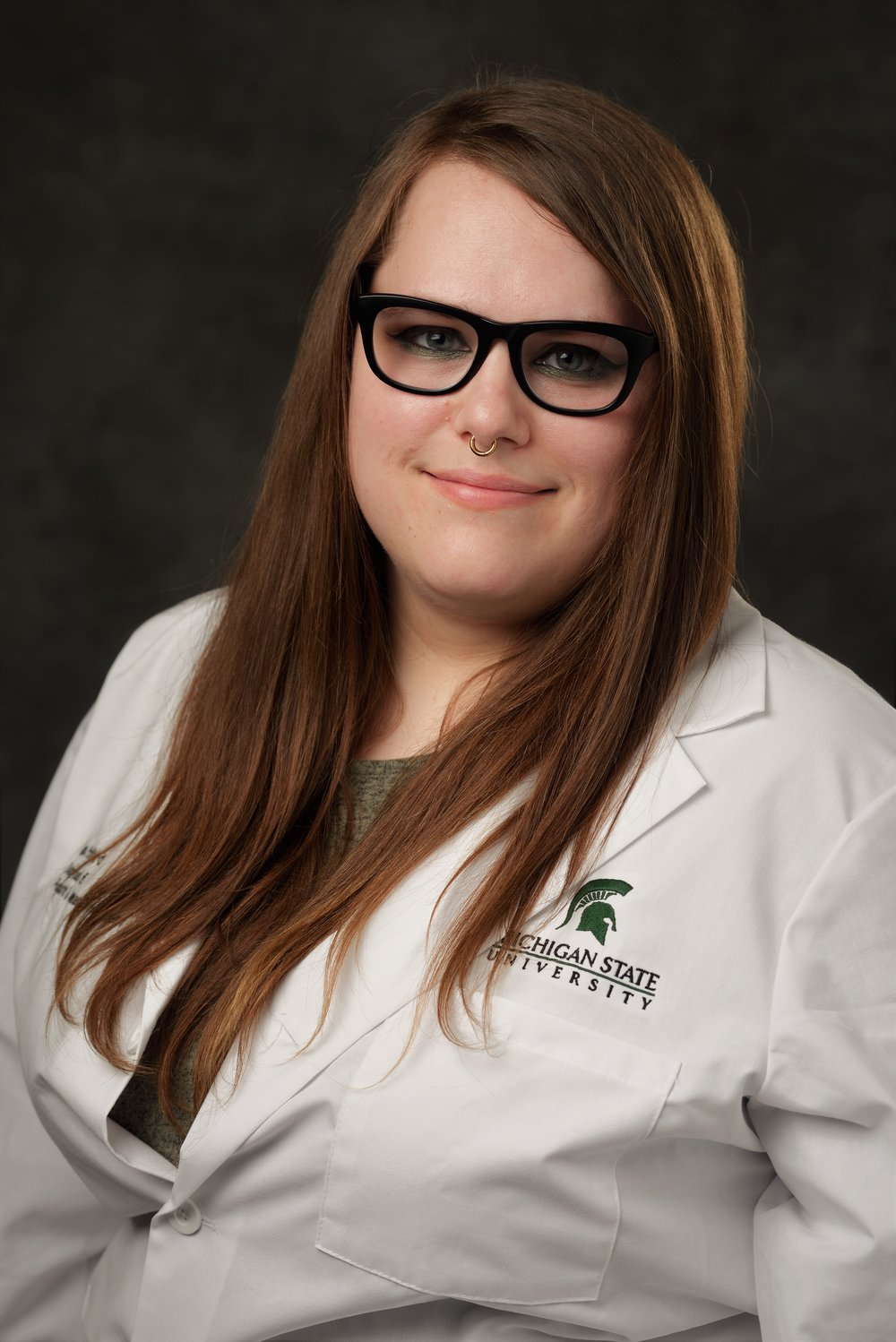 April Stafford, Research Assistant (Lab Manager) - April obtained a B.S. from Western Michigan University in 2012 with a concentration in Molecular Biology. She worked for the Van Andel Research Institute for four years in both the Vivarium and the Laboratory of Germline modification and Cryopreservation. In January of 2018 she began working in the Vogt Lab.