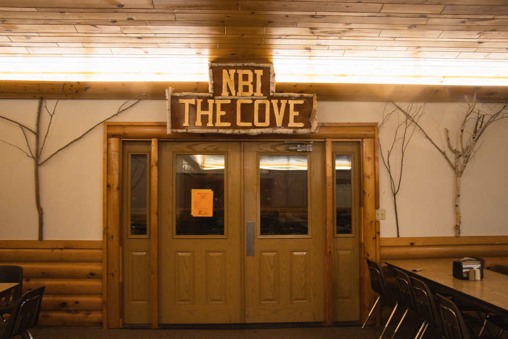 The Cove - The Cove is the newest meeting room at Silver Birch Ranch. It serves multiple purposes including Nicolet Bible Institute classes, weekend retreat meeting space, and extra dining space.