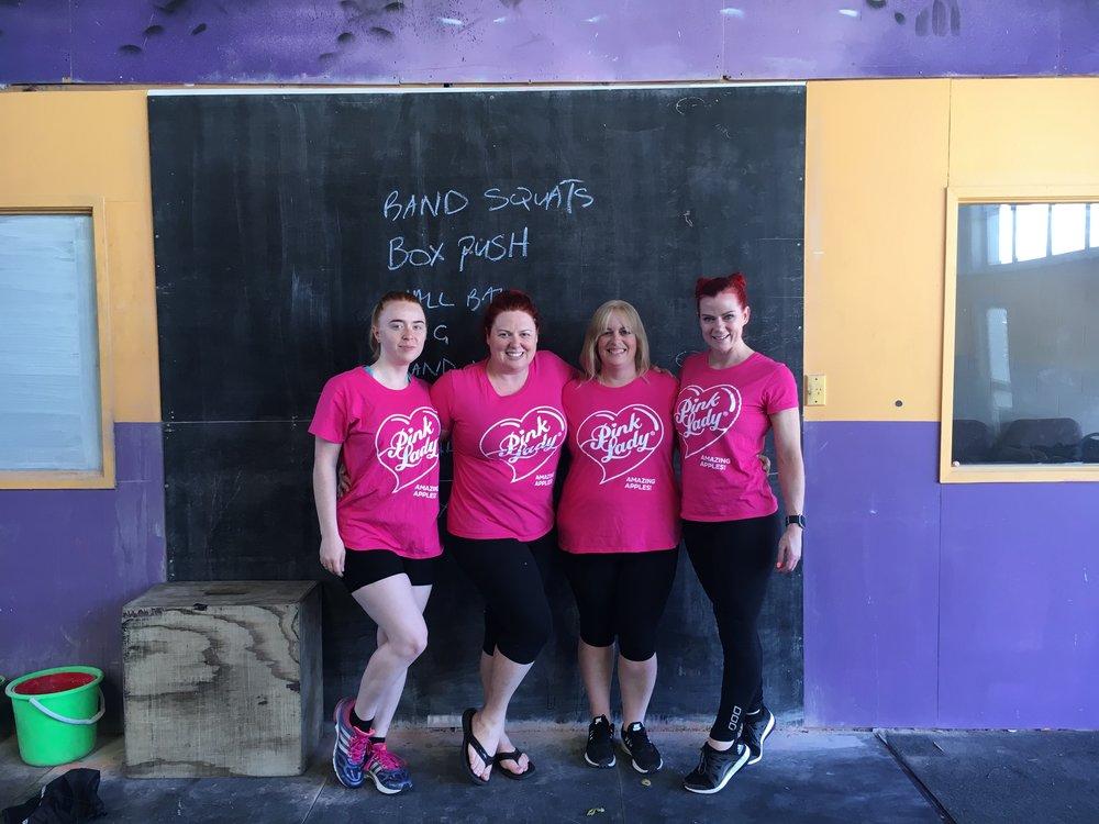 Team Pink Lady® Apples