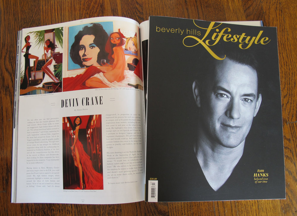 Beverly Hills Lifestyle Magazine - 2014 Academy Awards Issue