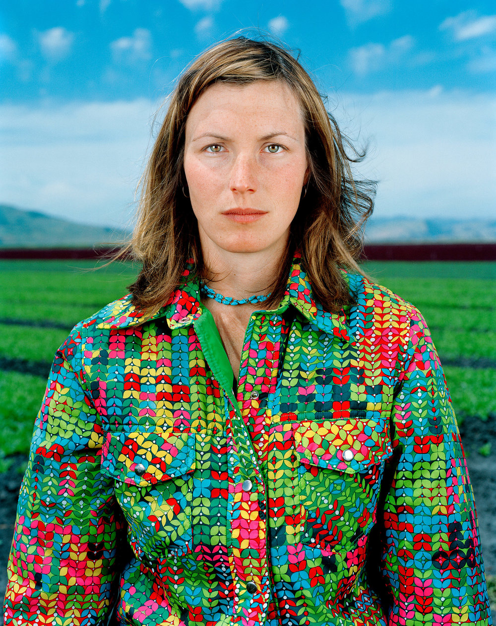 """Jane,   from """" The Janes"""" series. Chromogenic Print ( Collection de l'artiste ) 51.43 x 61.59 cm. (20 1/4 x 24 1/4 inch.)"""
