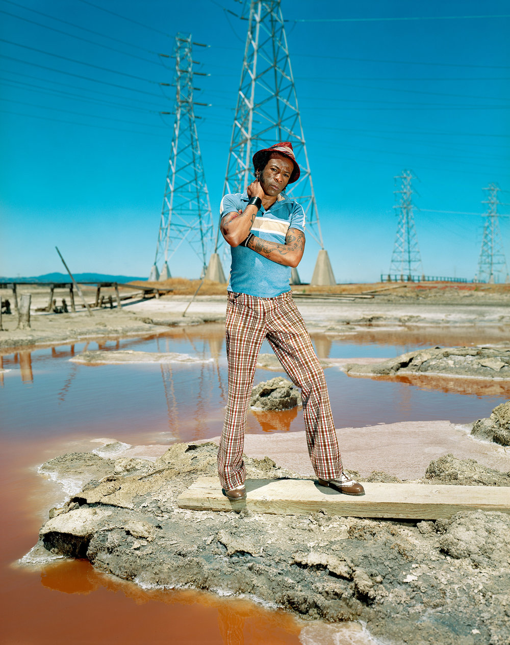 "Willie,   from the ""Salinas"" series. Chromogenic Print ( Collezione dell'artista ) 76.83 x 102.2 cm. (30 1/4 x 40 1/4 inch.)"
