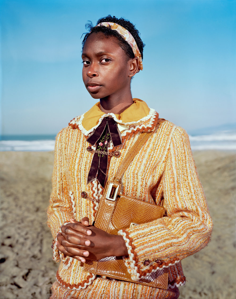 "Leone,   from the ""Shawnreysa"" series. Chromogenic Print ( Collection de l'artiste ) 127.63 x 153.03 cm.(50 1/4 x 60 1/4 inch.)"