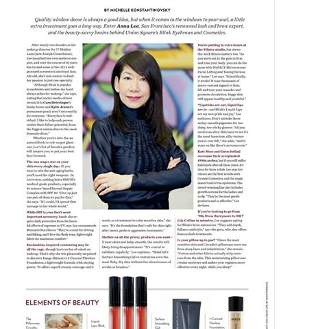 Anna Lee is featured on the February 2017 issue of the Nob Hill Gazette - Featured on the February 2017 issue of the Nob Hill Gazette, Anna Lee has been in the beauty/makeup service for over 25 years. Her passion lies in makeup and enhancing every individual's natural beauty, but her expertise has expanded to facial threading, lash/brow extensions, and even lash perms!