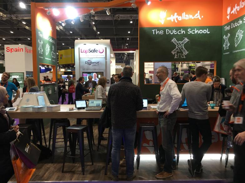 The Dutch School op BETT 2017, Londen