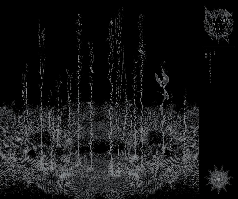 • Outside Folded Insert w/ Obi, Metallic Silver Print on Black Cardstock