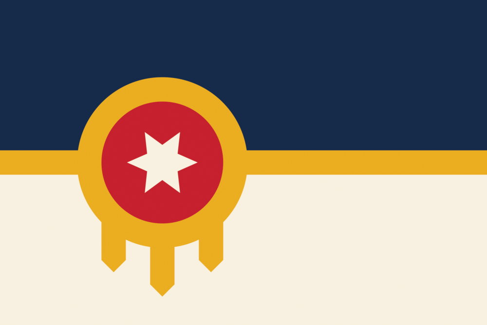 Meaning Tulsa Flag