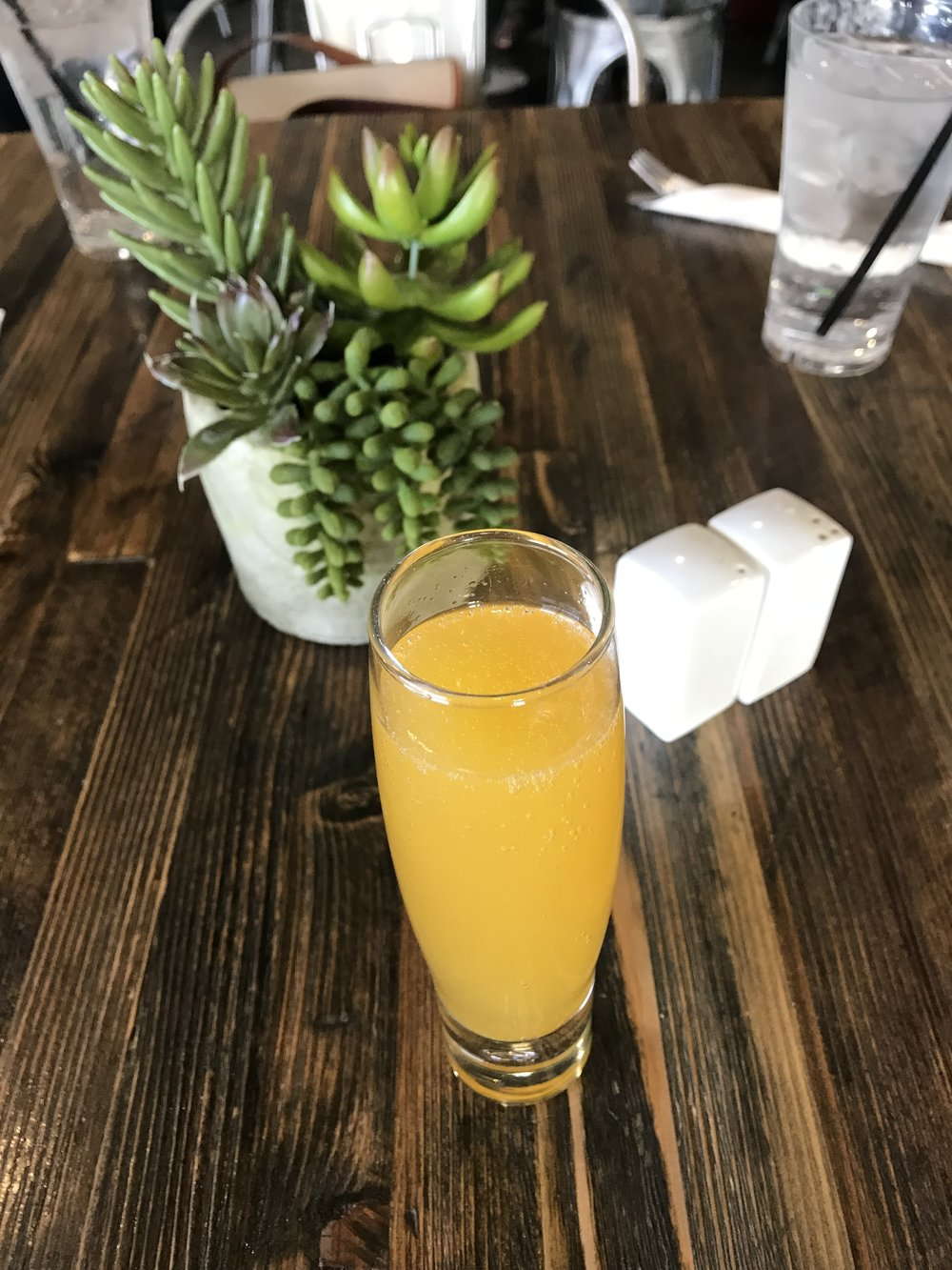 The Passionfruit Mimosa