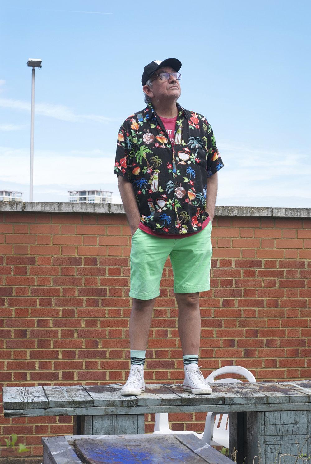 Robin Klassnik OBE, founder Matt's Gallery, photographed in Bermondsey.   mattsgallery.org