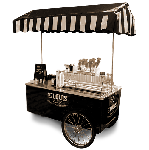 St Louis Ice Cream Cart