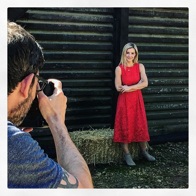 Fun on the farm. No wellies today though. #ladyinred #countryfile #photos #workingmum #farmlife #outdoors