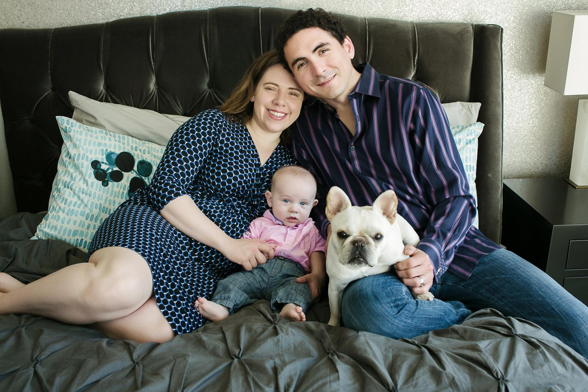 This picture is a little old, but I can't help but use it--it's just so cute!