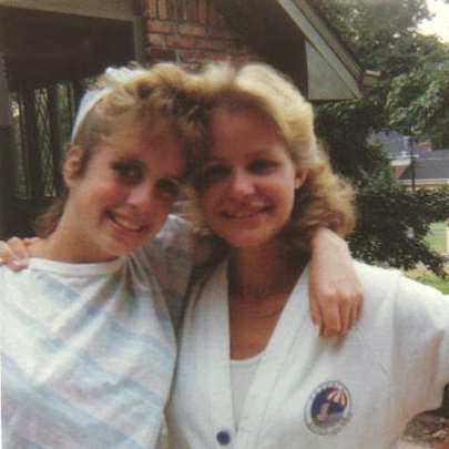 Jennifer Fisher and Sharon Marshall