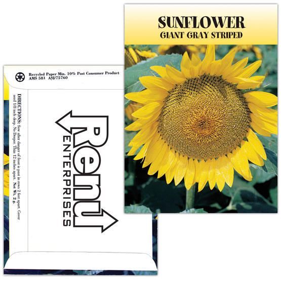 Seed Packet Business Card
