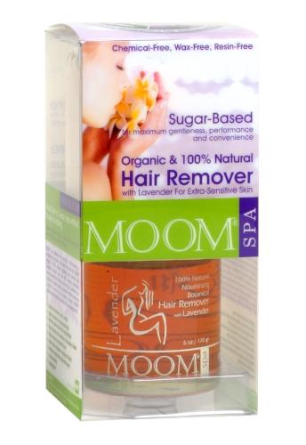 MOOM Organic Hair Removal Kit with Lavender (SPA Formula)