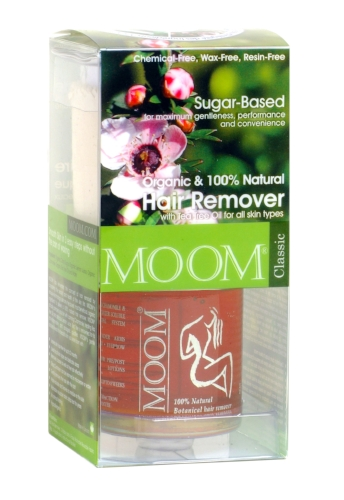 MOOM Organic Hair Removal kit with Tea Tree (Classic)