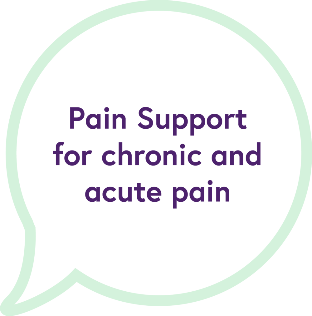 Pain support for chronic pain & EDS