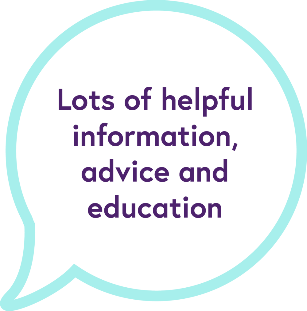 Other information, advice, links and education