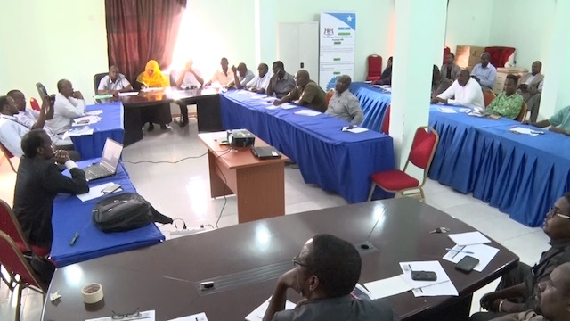 A photo from the workshop in Puntland. Credit: UN Photo.