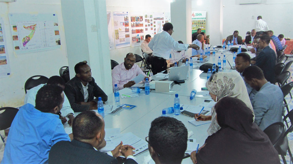Kick-off meeting in Mogadishu. Credits: UN pictures