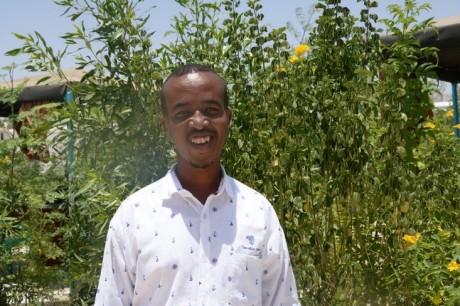 Abdirahman Dahir Abdi, Young Graduate, Garowe, Puntland. Credit: UN Photo.